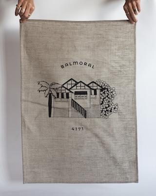 Balmoral Tea Towel