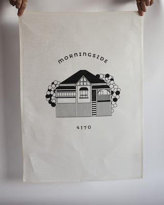 Morningside Tea Towel